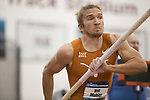 COLLEGE STATION, TX - MARCH 11: Wolf Mahler of Texas competes in the pole vault section of the Heptathlon during the Division I Men's and Women's Indoor Track & Field Championship held at the Gilliam Indoor Track Stadium on the Texas A&M University campus on March 11, 2017 in College Station, Texas. (Photo by Michael Starghill/NCAA Photos/NCAA Photos via Getty Images)