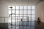Inside the Museum of Modern Art, New York City, USA
