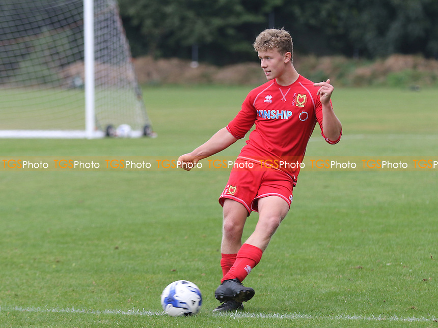 Tommy Hope of MK Dons during Gillingham Under-18 vs Milton Keynes Dons Under-18, EFL Youth Alliance Football at Beechings Cross, Gillingham FC Training Ground on 8th October 2016