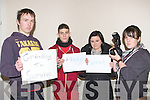 PHOTOSPEAK: Launching their Photo Speak on Saturday 22nd December 2012 in the KDYS Denny Street, Tralee, l-r: nathan Roche, Laura Lenihan, Mickey O'Shea and Laura Horgan.