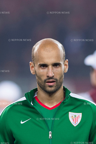 Mikel Rico (Bilbao), FEBRUARY 19, 2015 - Football / Soccer : UEFA Europa League, round of 32 first leg match between Torino FC 2-2 Athletic Club Bilbao at Stadio Olimpico di Torino in Turin, Italy. (Photo by Maurizio Borsari/AFLO)