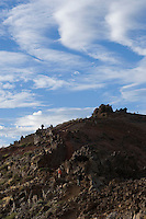 Spain, Canary Islands, La Palma, Roque de los Muchachos, highest mountain of La Palma