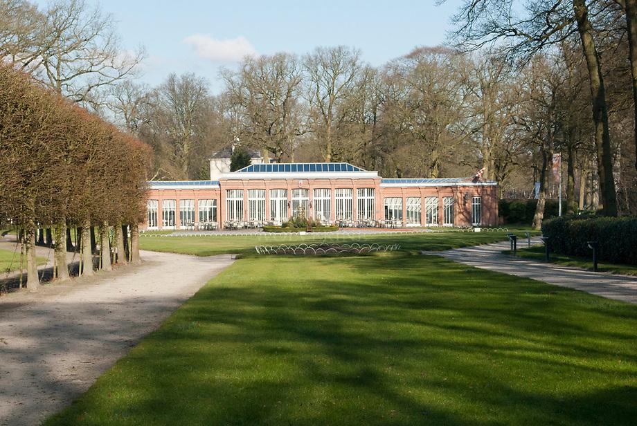 Mattenburg, oranjerie bij landhuis, Brabants Landschap