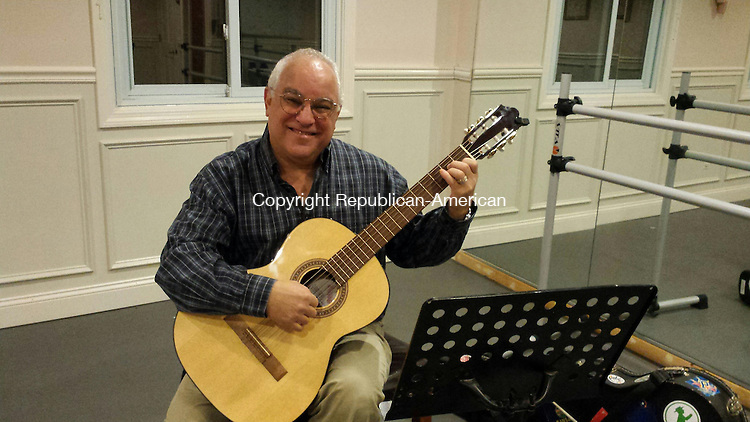 MIDDLEBURY, CT -- 26 Sept. 2014: 092614BB01 --- Mort Melman of Naugatuck will open Middlebury Academy of Guitar on the second floor of Brass City Ballet, 1255 Middlebury Road. Bill Bittar Republican-American