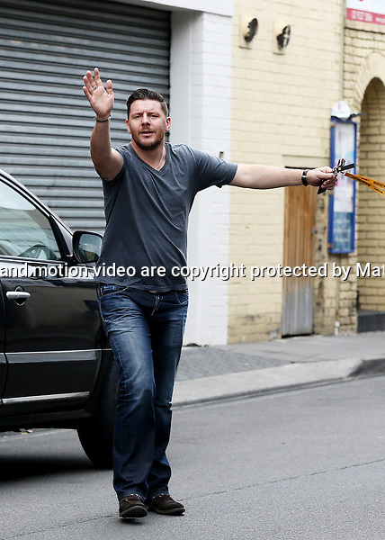 27 NOVEMBER 2014 SYDNEY AUSTRALIA<br /> <br /> EXCLUSIVE PICTURES <br /> <br /> Manu Feildel pictured  running errands in Double Bay.<br /> <br /> *No web use without clearance*.<br /> MUST CONTACT PRIOR TO USE <br /> +61 2 9211-1088. <br /> <br /> Matrix Media Group.Note: All editorial images subject to the following: For editorial use only. Additional clearance required for commercial, wireless, internet or promotional use.Images may not be altered or modified. Matrix Media Group makes no representations or warranties regarding names, trademarks or logos appearing in the images.
