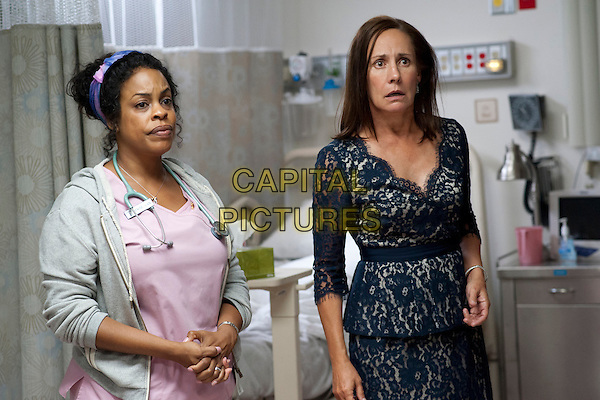 Niecy Nash, Laurie Metcalf<br /> in Getting On (2013) <br /> (Season 1)<br /> *Filmstill - Editorial Use Only*<br /> CAP/FB<br /> Image supplied by Capital Pictures