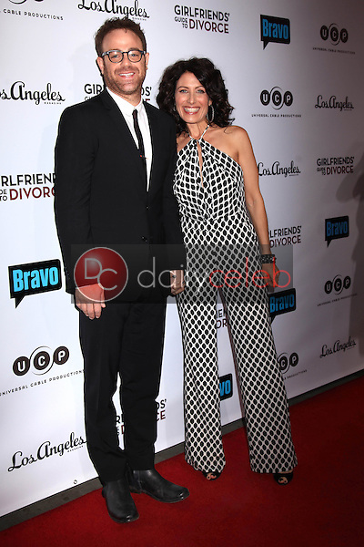 "Paul Adelstein, Lisa Edelstein<br /> at the ""Girlfriends Guide to Divorce"" Premiere Screening, Ace Hotel, Los Angeles, CA 11-18-14<br /> David Edwards/DailyCeleb.com 818-915-4440"