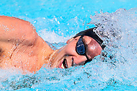 Commonwealth Games - Swimming - Optus Aquatics Centre, Gold Coast, Australia - Matthew Stanley of New Zealand competes in the Men's 200m Freestyle heats. 6 April 2018. Picture by Alex Whitehead / www.photosport.nz