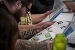 Justice at PowerShift 2013. (Photo by: Robert van Waarden)