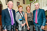 Ballydonoghue SGAA Social; Pictured at the Ballydonoghue GAA club social held at the Listowel Arms Hotel on Saturday night last were Mike & Dolores O'Connor & Anne & Pat O'Donnell.
