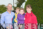 FAMILY: The Stack Family Mark, Lilly,Maggie and Sinead who attended the services at the well to mark Pattern Day in Ballyheigue on Tuesday.... ....