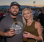 Eric and Jenii from Reno during Hot August Nights at the Grand Sierra Resort on Tuesday, August 2, 2016.
