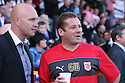 Mark Stimson and Graham Westley. Mitchell Cole Benefit Match - Lamex Stadium, Stevenage - 7th May, 2013. © Kevin Coleman 2013. ..