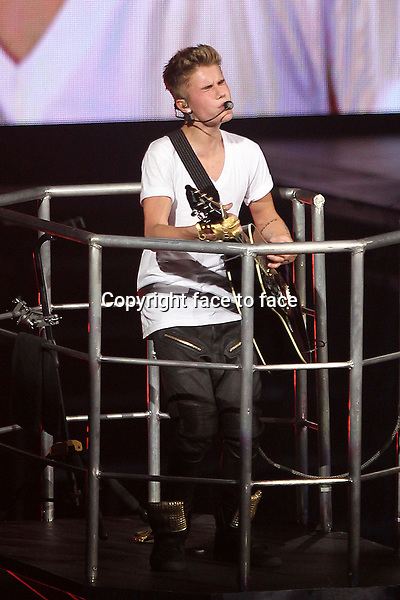 Justin Bieber Performs at the Verizon Center on his Believe Tour in Washington, D.C, 05.11.2012...Credit: MediaPunch/face to face..- Germany, Austria, Switzerland, Eastern Europe, Australia, UK, USA, Taiwan, Singapore, China, Malaysia and Thailand rights only -
