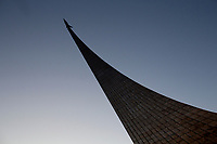 Monument to the Conquerors of Space - Cosmonauts statue - Moscow, Russia - 16 December 2012