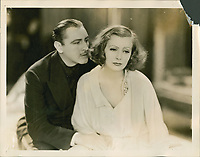 Grand Hotel (1932)<br /> Lobby card with John Barrymore &amp; Greta Garbo<br /> *Filmstill - Editorial Use Only*<br /> CAP/MFS<br /> Image supplied by Capital Pictures