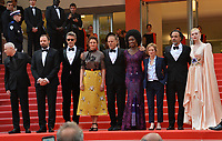 """CANNES, FRANCE. May 14, 2019: Robin Campillo, Yorgos Lanthimos, Pawel Pawlikowski, Alice Rohrwacher, Enki Bilal, Maimouna NDiaye, Kelly Reichardt, Alejandro Gonzalez Inarritu & Elle Fanning at the gala premiere for """"The Dead Don't Die"""" at the Festival de Cannes.<br /> Picture: Paul Smith / Featureflash"""