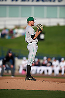 Clinton LumberKings starting pitcher Tim Viehoff (36) looks in for the sign during a game against the West Michigan Whitecaps on May 3, 2017 at Fifth Third Ballpark in Comstock Park, Michigan.  West Michigan defeated Clinton 3-2.  (Mike Janes/Four Seam Images)