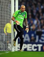FUSSBALL   EUROPA LEAGUE   SAISON 2011/2012  ACHTELFINALE FC Schalke 04 - Twente Enschede                         15.03.2012 Nikolay Mihaylov (Twente)