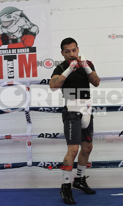 Entrenamiento de Hernan  Tayson Marquez..9 de  abril 2013 en Hermosillo Sonora.