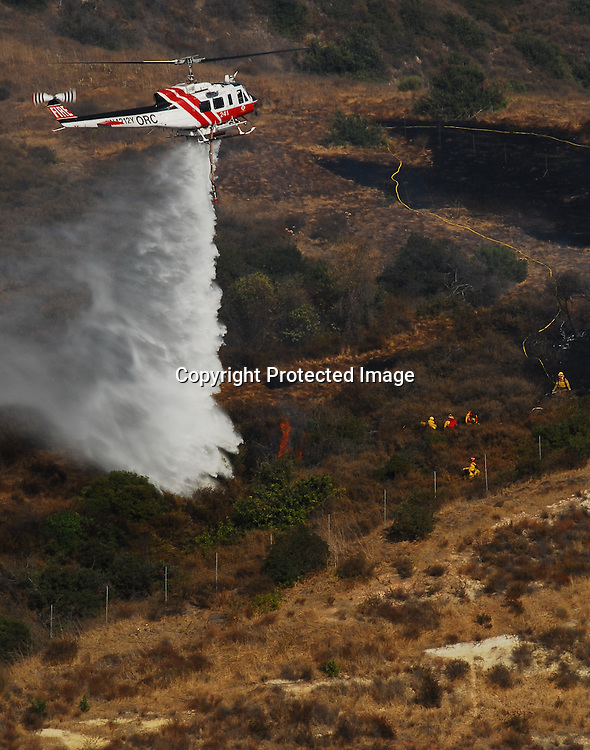 Stock photo fire fighting helicopter
