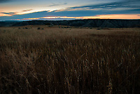 Sunrise over the grasslands at Theodore Roosevelt National Park, North Dakota