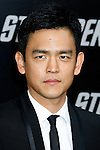 "HOLLYWOOD, CA. - April 30: John Cho arrives at the Los Angeles premiere of ""Star Trek"" at the Grauman's Chinese Theater on April 30, 2009 in Hollywood, California."
