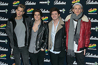 The Vamps attend the 40 Principales Awards at Barclaycard Center in Madrid, Spain. December 12, 2014. (ALTERPHOTOS/Carlos Dafonte) /NortePhoto