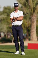 Adri Arnaus (ESP) on the 16th green during Round 3 of the Abu Dhabi HSBC Championship at the Abu Dhabi Golf Club, Abu Dhabi, United Arab Emirates. 18/01/2020<br /> Picture: Golffile | Thos Caffrey<br /> <br /> <br /> All photo usage must carry mandatory copyright credit (© Golffile | Thos Caffrey)