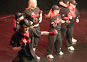 """On Fire"" performing.  Special Olympics Surrey put on a show,   ""Beyond the Stars"", at the Rose Theatre, Kingston upon Thames to raise money for the  SOGB team.  The Special Olympics are for athletes with learning disabilities."