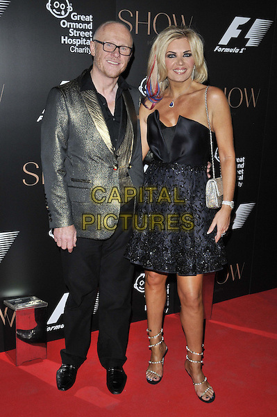LONDON, ENGLAND - JULY 02: John Caudwell &amp; Claire Johnson attend the F1 Party, Victoria &amp; Albert Museum, Cromwell Rd., on Wednesday July 02, 2014 in London, England, UK.<br /> CAP/CAN<br /> &copy;Can Nguyen/Capital Pictures