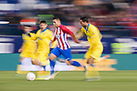 Angel Correa of Atletico de Madrid in action during their Copa del Rey 2016-17 Round of 16 match between Atletico de Madrid and UD Las Palmas at the Vicente Calderón Stadium on 10 January 2017 in Madrid, Spain. Photo by Diego Gonzalez Souto / Power Sport Images
