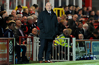 Accrington Stanley Manager John Coleman during the The Leasing.com Trophy match between Accrington Stanley and Fleetwood Town at the Fraser Eagle Stadium, Accrington, England on 3 September 2019. Photo by Greig Bertram / PRiME Media Images.