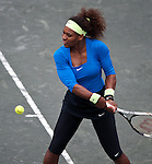 Serena Williams at the Family Circle Cup in Charleston, South Carolina on April 6, 2012