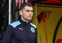 Burnley's Sam Vokes pictured before the match<br /> <br /> Photographer Andrew Kearns/CameraSport<br /> <br /> The Premier League - Watford v Burnley - Saturday 19 January 2019 - Vicarage Road - Watford<br /> <br /> World Copyright © 2019 CameraSport. All rights reserved. 43 Linden Ave. Countesthorpe. Leicester. England. LE8 5PG - Tel: +44 (0) 116 277 4147 - admin@camerasport.com - www.camerasport.com