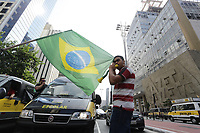 25.05.2018 - Protesto de Vans Escolares na Avenida Paulista em SP