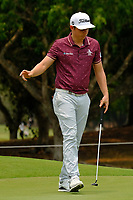 Cameron Smith (AUS) on the 3rd green during round 4 of the Australian PGA Championship at  RACV Royal Pines Resort, Gold Coast, Queensland, Australia. 22/12/2019.<br /> Picture TJ Caffrey / Golffile.ie<br /> <br /> All photo usage must carry mandatory copyright credit (© Golffile   TJ Caffrey)