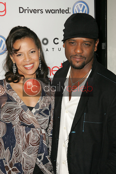 Blair Underwood and wife Desiree<br />at the premiere of &quot;Something New&quot;. Cinerama Dome, Hollywood, CA 01-24-06<br />Dave Edwards/DailyCeleb.com 818-249-4998