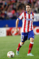 Saul of Atletico de Madrid during Champios Legue soccer match between Atletico de Madrid V Malmoe al Vicente Calderon Stadium. October 22, 2014. (ALTERPHOTOS/Caro Marin)