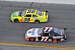 Feb 12, 2009; 2:36:40 PM; Daytona Beach, FL, USA; NASCAR Sprint Cup Series race of the Gatorade Duel at Daytona International Speedway.  Mandatory Credit: (thesportswire.net)