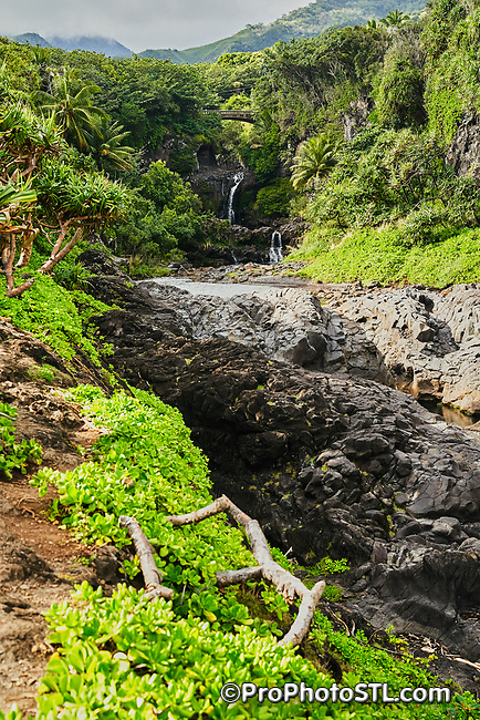 Seven Sacred Pools at Ohe'o in Haleakalā National Park in Maui, Hawaii