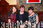 Pictured at the birthday celebrations of Annmarie Wallace in Leens Hotel, Abbeyfeale on Friday night was, Maryanne Wallace, Glin, Bridget Donegan, Duagh and noreen O'Donoghue, Listowel.