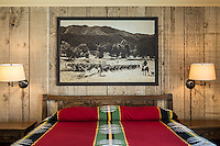 A poolside guest room at The Alisal Guest Ranch and Resort, Solvang, California.