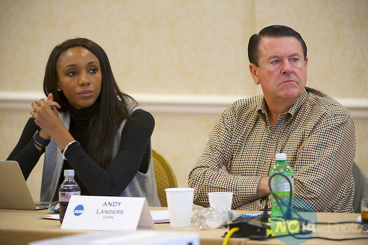 18 JAN 2017: The Division I Women's Basketball Committee meeting takes place during the 2017 NCAA Convention at the Gaylord Opryland Resort and Convention Center in Nashville, TN.  Jamie Schwaberow/NCAA Photos  (Pictured:  Andy Landers)