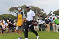 Vijay Singh (FIJ) walks off the 8th tee during Saturday's Round 3 of the 94th PGA Golf Championship at The Ocean Course, Kiawah Island, South Carolina, USA 10th August 2012 (Photo Eoin Clarke/www.golffile.ie)