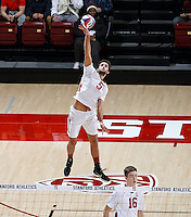 STANFORD, CA; January 13, 2017; Men's Volleyball, Stanford vs Ohio State.