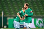 Auswechslung Philipp Bargfrede (Werder Bremen #44) kommt Johannes Eggestein (Werder Bremen #24)<br /> <br /> Sport: Fussball: 1. Bundesliga: Saison 19/20: <br /> 26. Spieltag: SV Werder Bremen vs Bayer 04 Leverkusen, 18.05.2020<br /> <br /> Foto ©  gumzmedia / Nordphoto / Andreas Gumz / POOL <br /> <br /> Nur für journalistische Zwecke! Only for editorial use!<br />  DFL regulations prohibit any use of photographs as image sequences and/or quasi-video.