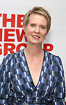 "Cynthia Nixon attends the New Group World Premiere of ""The True"" on September 20, 2018 at The Green Fig Urban Eatery in New York City."