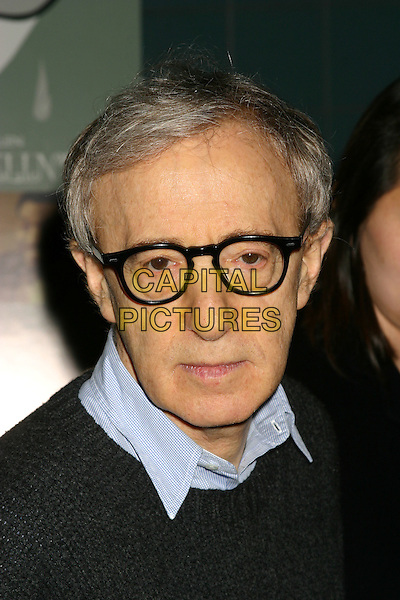 "WOODY ALLEN & SOON-YI PREVIN.""Melinda and Melinda"" New York Premiere, Chelsea West Theater, New York City, New York  - Outside Arrivals.March 16th, 2005 .headshot portrait glasses.www.capitalpictures.com.sales@capitalpictures.com.© Capital PIctures"