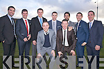 Cream of the crop pictured here at the wedding of team mate Kieran Donaghy were front l-r; Darren O'Sullivan, Kieran O'Leary, back l-r; Bryan Sheehan, Eamon Fitzmaurice, Eoin Brosnan, Marc O'Shea, Paul Galvin, Killian Young & Declan O'Sullivan.